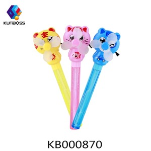 2018 bubble wand plastic fan pull educational toys for kids