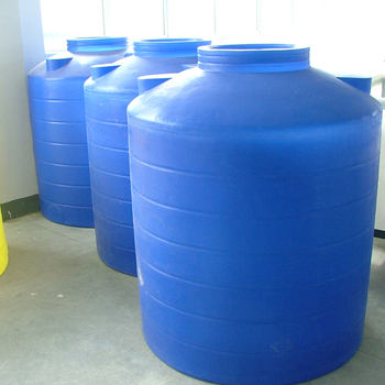 200L - 50T Rotational Moulding LLDPE Plastic Round Truck Water Filter Chemical Storage Tank