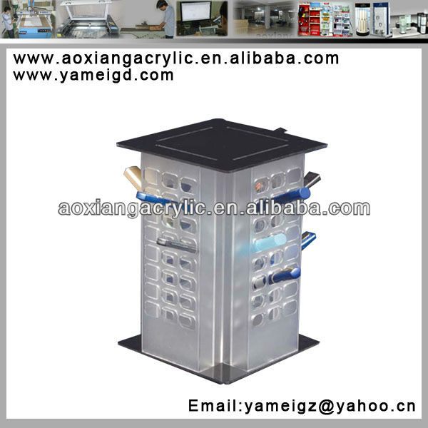 Stationery shop/book shop pen/pencil holders display factory Guangzhou