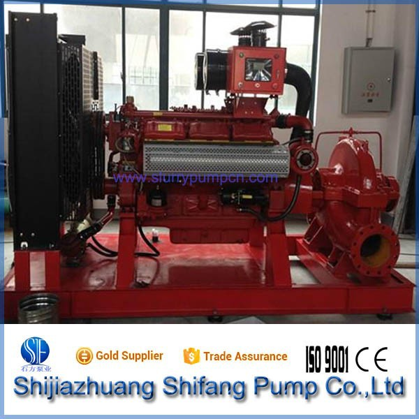 CE Certificate Diesel Double Suction Pump