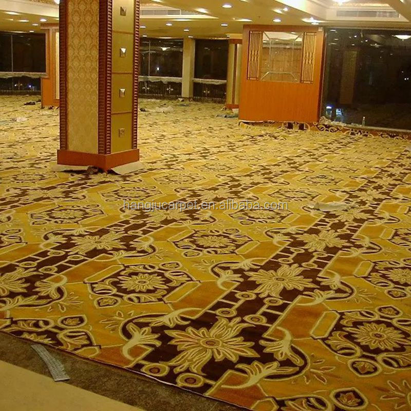 Custom New Style Hotel Hall Wool Hand Tufted Carpet G-H1Series