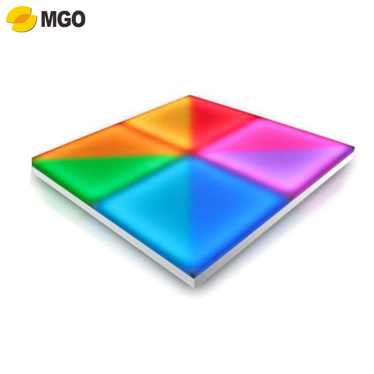 lighted rgb video 432pcs rgb change colors make led dance floor