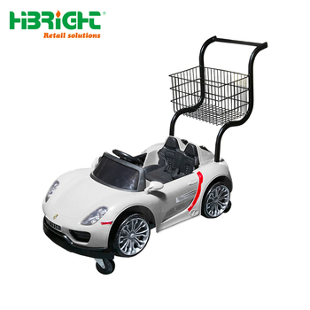 World Unique Plastic Metal Mall Car For Kids