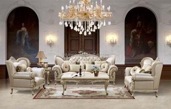 Best Price Classic Ivory Solid Wood Living Room Sofa With Genuine  Leather/Antique Hotel Lobby Sofa Set (MOQ=1 Set), View classic living room  sofa, ...