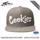 China factory high quality simple custom puff embroidery military snapback cap