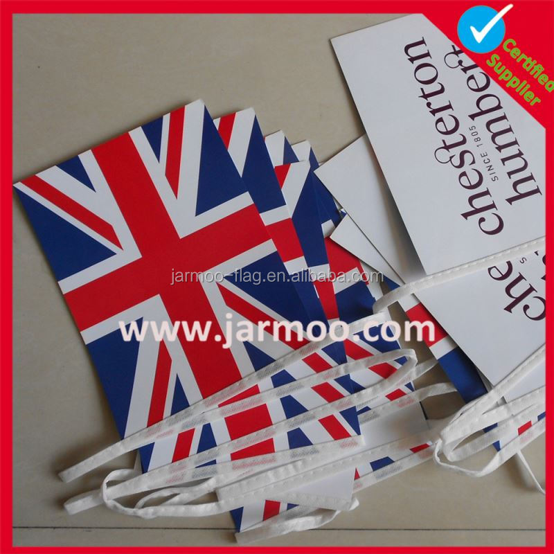 custom made brand printed holiday bunting decorations