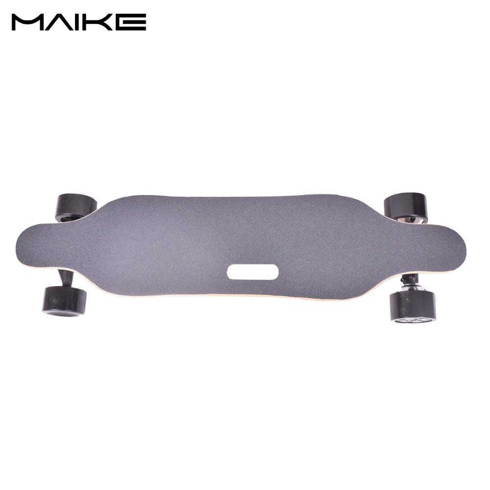 2018 the best maple deck electric skateboard longboard China wholesale dual hub brushless motor electric skateboard with remote