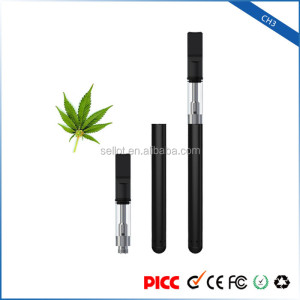 Chinese Supplier Mini CH3 Electronic Atomizer Vaporizer Cbd Cartridge