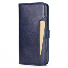 Wallet stand flip PU leather mobile phone case for iPhone 8 plus