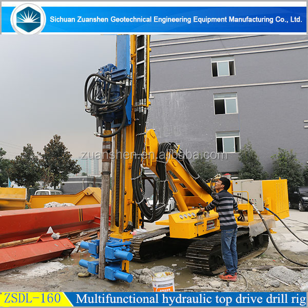 multifunctional all hydraulic top drive drilling rig used in Vietnam