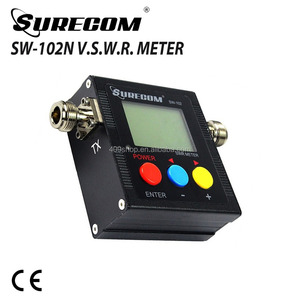 SURECOM SW-102 Shortwave Antenna Power Meter and Frequency Counter