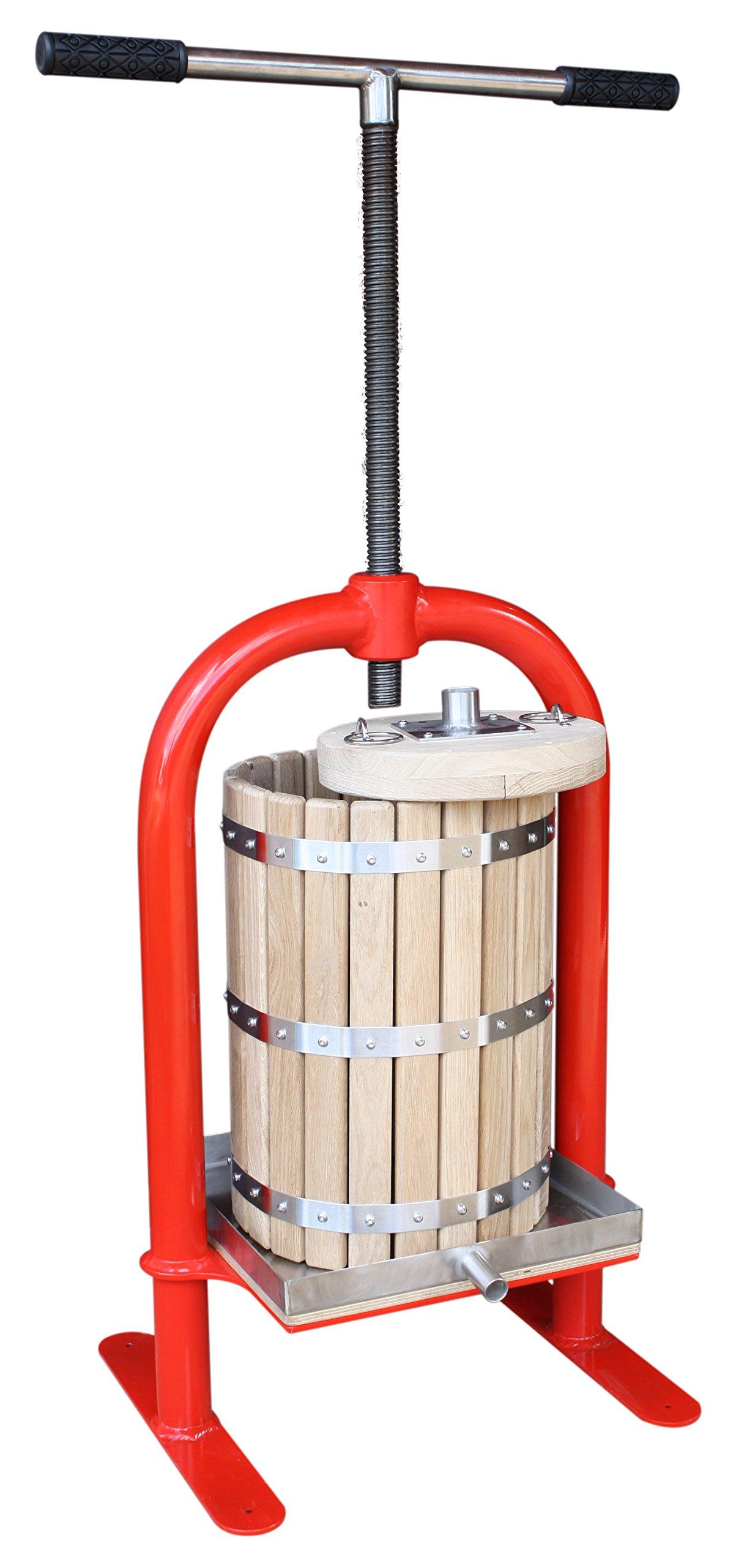 Screw press VP-20 - juicer for apples, grapes, berries, fruits, wine, cider