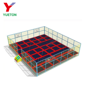Commercial Children Indoor Best Play Ground Used Large Trampoline Park