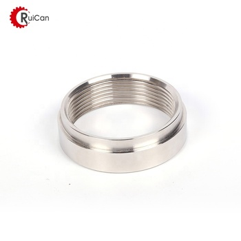 OEM customized stainless steel precision cnc machining aluminum auto parts stainless steel flange finger ring