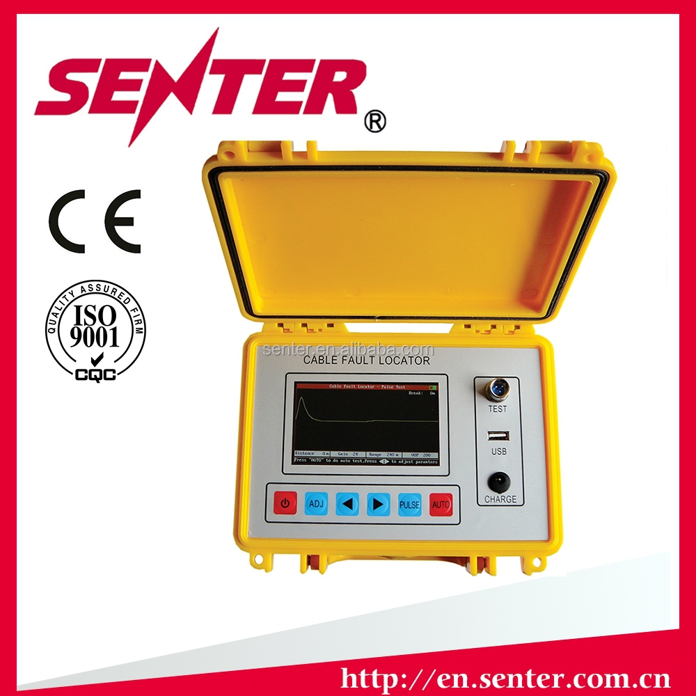 ST620 Cable Fault Locator/fast processing speed/0 m dead zone/TDR