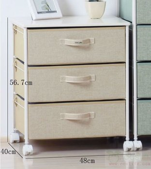 Rolling storage cart - Canvas Drawers & Rolling Storage Cart - Canvas Drawers - Buy Rolling Storage Cart ...