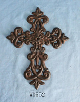 cast iron cross decor