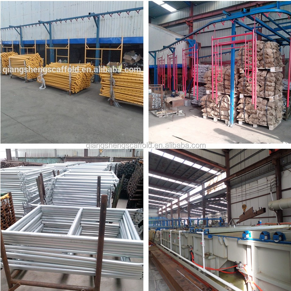 Steel Scaffolding Manufacturers : Metal scaffolding frame for construction tubular