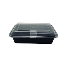 Microwave pp 5 compartment food takeaway containers
