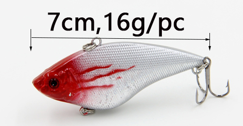 Professional VIB fly fishing lures in 7cm