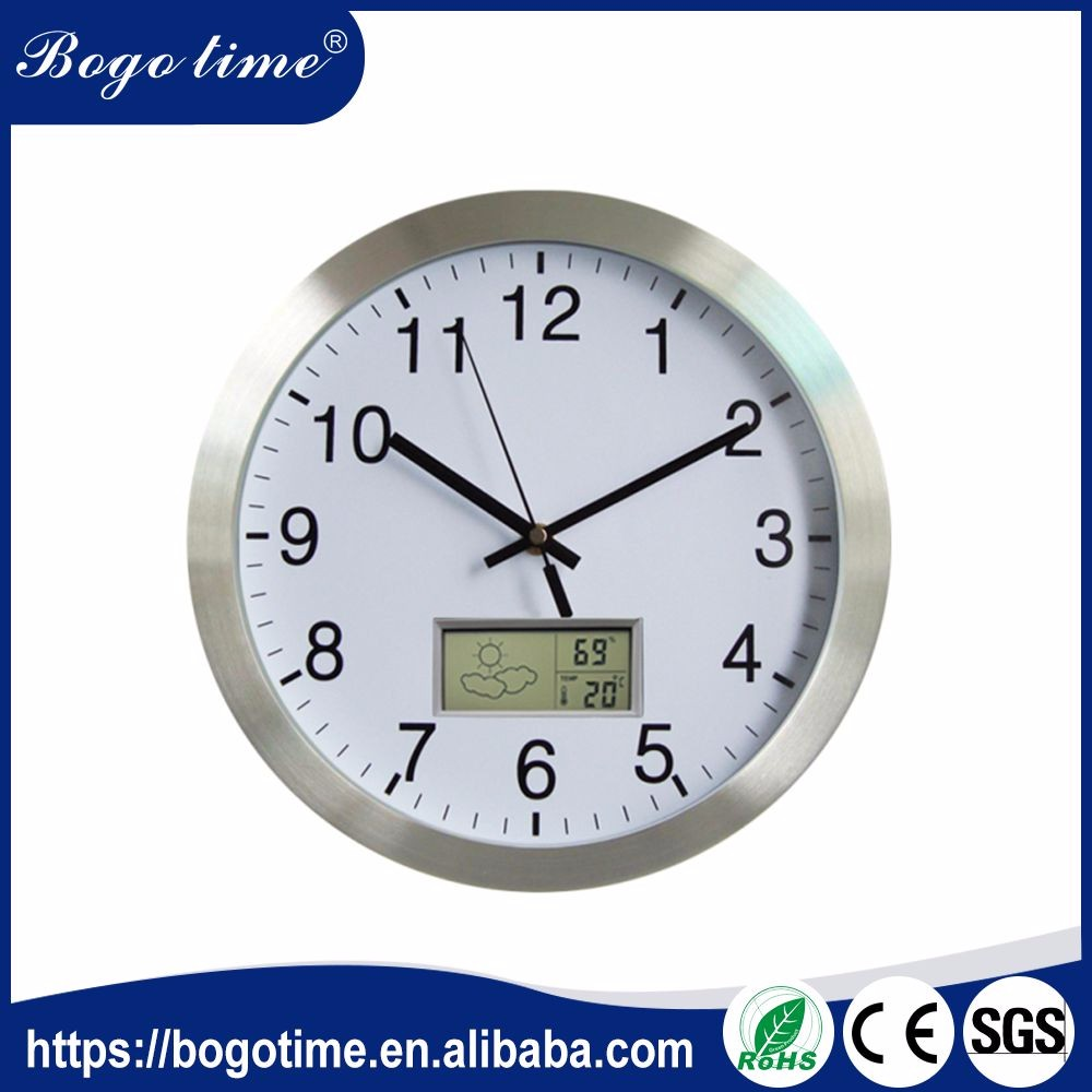 Wholesale wall clocks with day and date wall clocks with day and volume supply aluminum wall clock with day and date display amipublicfo Images