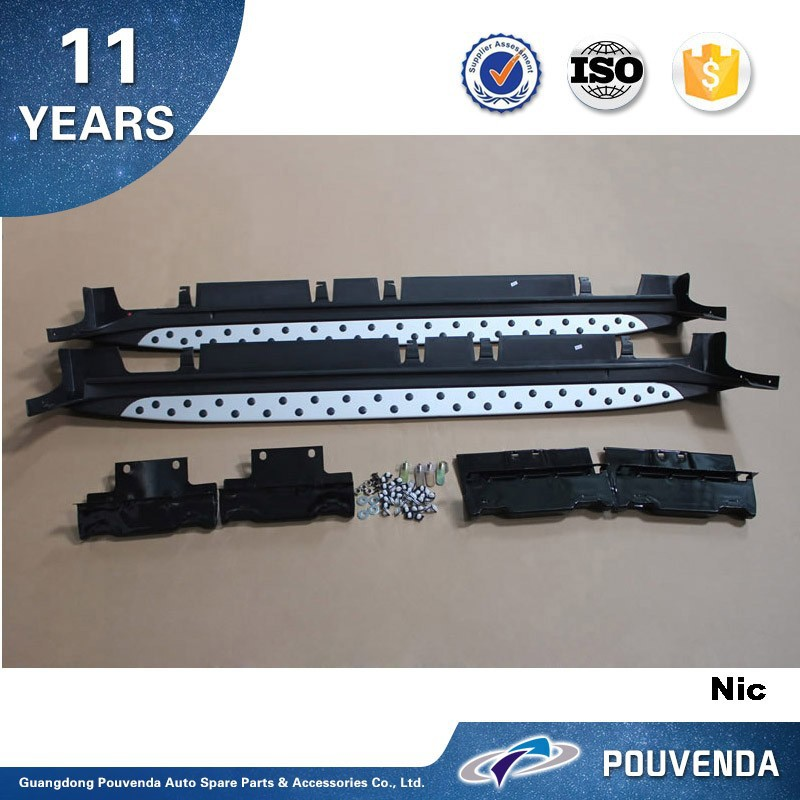 Aluminum Alloy running board For Sportage R 2010-2014 2015 Side Step bar running board(BMWtype) Auto accessories from pouvenda