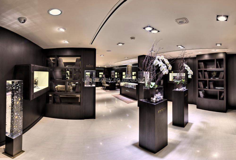 Exhibition Stand Evaluation : Haut de gamme luxe bois montre présentoir bijoux