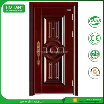 American Steel Door Entrance Steel Security Door Main Gate Designs ...