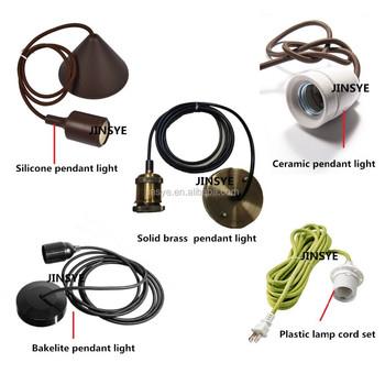 E26 e27 beautiful and colorful diy pendant light lamp socket cord e26 e27 beautiful and colorful diy pendant light lamp socket cord set types aloadofball Image collections