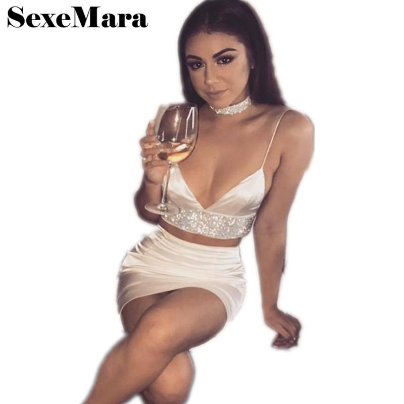 Satin Skirt Set 96