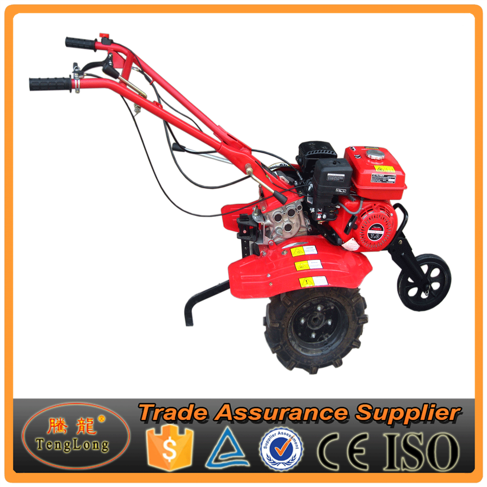 Two Wheels Hoe Gasoline Cultivator For Farm Plouhing And Seeding