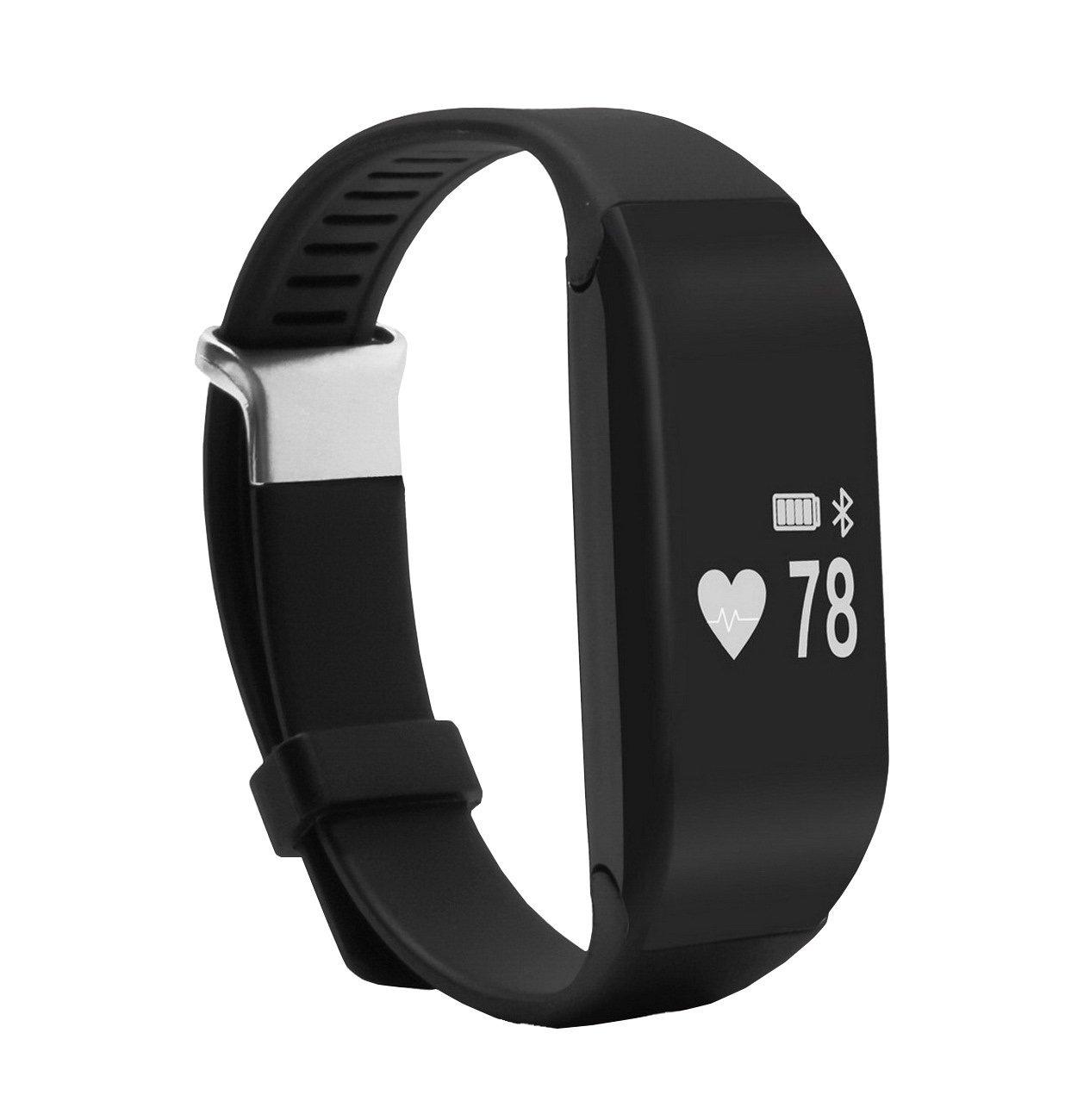 Bluetooth Waterproof Touch Screen Smart Watch Wristband Bracelet Pedometer Fitness Heart Rate Monitor