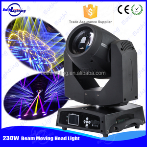 For event party dj equipment lighting 230w 7R sharpy beam christmas color wheel light