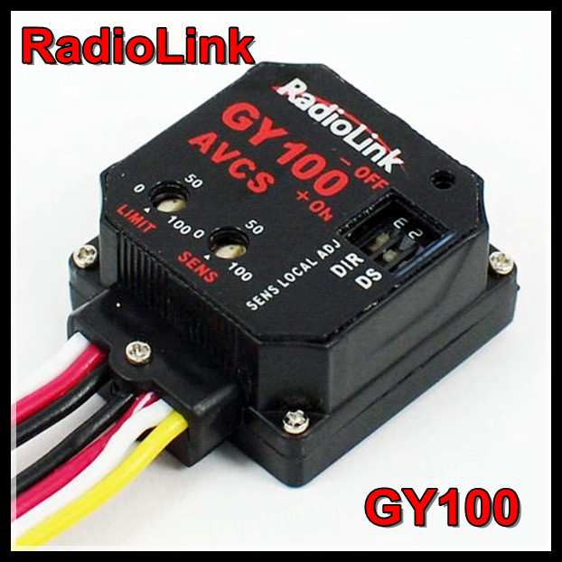 Radiolink GY100 Mini Head Lock AVCS RC Gyro For 450 500 600 Class Helicopter