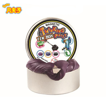 High quality non-toxic 6 colors play fun dough bouncing magnetic handgum of thinking putty