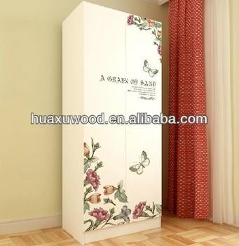 HXSL150110 1 Single Door Cream White Cube Almirah Design For Small Room / 1  Door Part 10