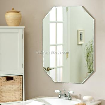Melhor 2 12mm De Alta Qualidade Sem Moldura De Cristal Moldura De Espelho Na Parede Parede Espelho Sem Moldura De Prata Buy 4 Mm Sem Moldura Espelho