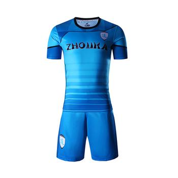 ac53cd1387af8 Sublimado los uniformes del equipo de fútbol deportes directo camisetas de  fútbol barato camiseta ...
