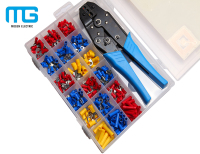 MG450pcs Electric spade terminal connector assorted kits with crimping tools