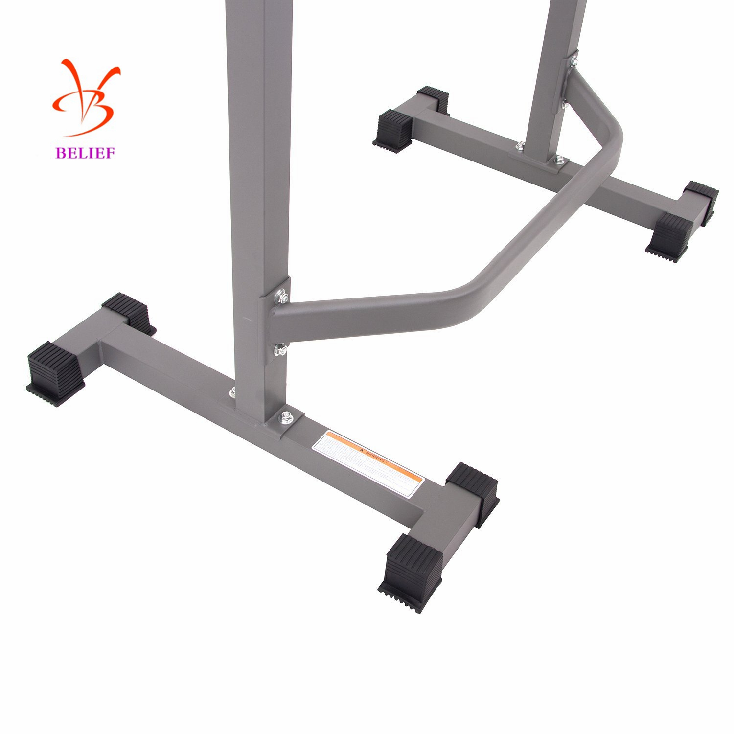 Belief Fitness Equipment Adjustable Squat Rack Home Exercise Equipment