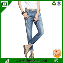 High quality colours girls and women new BF style denim fashion colors jeans trousers