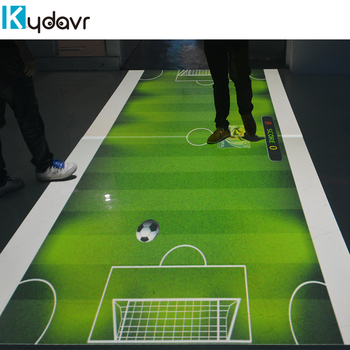 New technology 3D interactive floor projection for wedding/children games