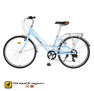 "Retail Irene 26"" simple model Blue city bike / bicycle / cycle for sale / Lady Bike"