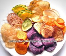 Mixed vegetable chips made in japan