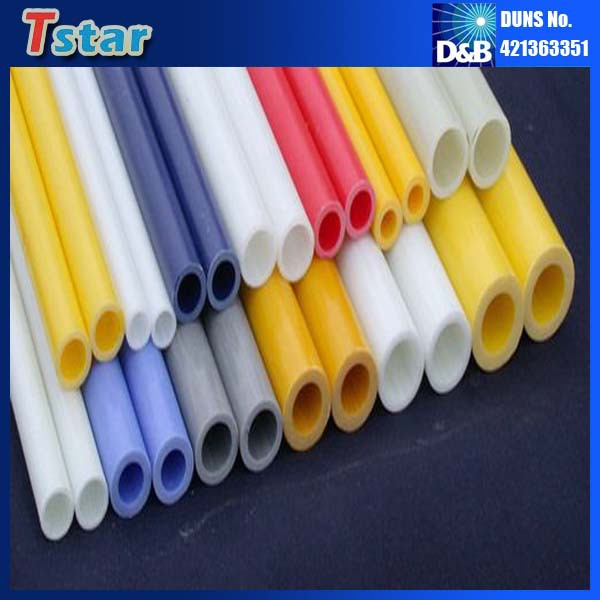 High Working Temperature Flexible Fiberglass Hollow Tube