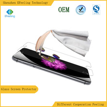 Hotsale Mobile Phone Mirror Colorful Frame Glass Screen Protectors for iPhone6