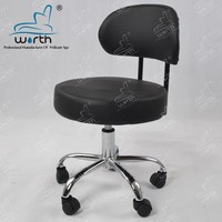 Best selling salon furniture used pedicure stainless unique spa center pedicure chair stool