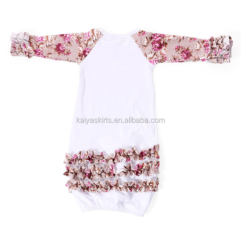 adc9a87fe Wholesale Kids Gowns 0-24m Baby Gowns Sleeping Wear Organic Cotton ...