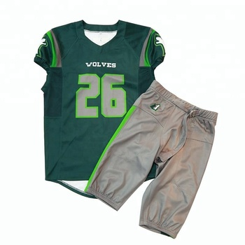 Full Sublimation Print Custom American Football Jersey