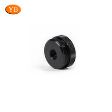 Factory CNC Locking Fastener, Black Al-T6 Custom Flashlight Adapter